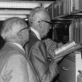 Besuch des Bundespräsidenten im Archiv der sozialen Demokratie der Friedrich-Ebert-Stiftung in Bonn, wo heute sein Nachlass liegt.