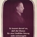 Heinemann tritt 1951 für die