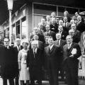 SPD-Parteitag 1962 in Köln; Heinemann gehört von 1958 bis 1969 dem SPD-Vorstand an.