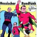 1976: Der Hessische Rundfunk wirbt mit Helmut Schmidt, Hans-Dietrich Genscher, Helmut Kohl und Franz Josef Strauß für eine neue Sendung, die Kinder für Politik interessieren soll.