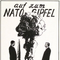 Protest gegen den von Schmidt durchgesetzten NATO-Doppelbeschluss.
