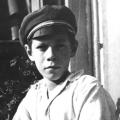 Helmut Schmidt im Alter von 13 Jahren.