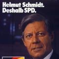 Bundestagswahl 1980: CSU-Gegenkandidat ist Franz Josef Strauß.