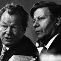 Unter Bundeskanzler Brandt bekleidet Schmidt zunächst das Amt des Verteidigungsministers...