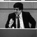 Scheer im Bundestag, dem er von 1980 bis 2010 angehörte.