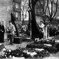 Beisetzung von Hermann Müller in Berlin.
