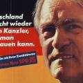 ...und versucht Amtsinhaber Helmut Kohl abzulösen.