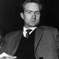 Der junge Johannes Rau im Jahr 1962. Bereits seit vier Jahren gehört er dem nordrhein-westfälischen Landtag an.