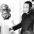 1979 besucht der chinesische Staatschef Huo Guofeng das Karl-Marx-Haus in Trier.
