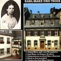 Postkarte des Karl-Marx-Hauses in Trier.