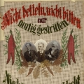 Karl Marx, Ferdinand Lassalle und August Bebel vereint in der sozialdemokratischen Erinnerung.