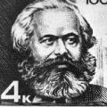 Mit einer Briefmarke ehrt die Sowjetunion 1967 das Hauptwerk von Karl Marx.