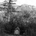 Gedenkstein an der Stelle, wo sich Lassalle 1864 in der Nähe von Genf duelliert hat.