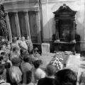 Das Grab von Ferdinand Lassalle in Breslau: Gedenkveranstaltung 1984.