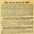 Die SPD erinnert im Jahr 1930 an die sozialen Errungenschaften der Novemberrevolution.