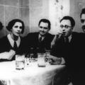 Otto Wels begeht den Jahreswechsel 1934/35 unter anderem mit Martha und Erich Ollenhauer in einem Prager Hotel.