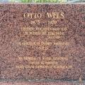 Die Grabstätte von Wels in Châtenay-Malabry bei Paris.