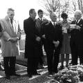Gedenkfeier für Otto Wels in Paris 1973.