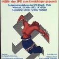 Gegen das Vergessen: SPD und DGB würdigen die mutige Rede von Otto Wels zur Ablehnung des Ermächtigungsgesetzes