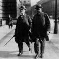 Philipp Scheidemann und Otto Wels um 1928.