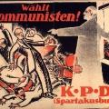 Die Republik bleibt unruhig. Die KPD wirbt während der Reichstagswahl 1920 mit einem auferstandenen Karl Liebknecht, der Ebert, Scheidemann und Noske anklagt.