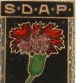 Schon in den frühen 1870er Jahren schmückten sich Sozialisten mit der roten Nelke.<br> Bildrechte: AdsD