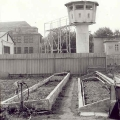 Gefängnisgärtnerei mit Wachturm: Selbstversorgung in den 1980er Jahren.