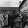 Am 21. August 1952 wird der Sarg in das SPD-Parteihaus überführt und verbleibt dort zwei Tage.