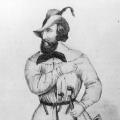 Mit Bart und Heckerhut für die Revolution: Friedrich Hecker, der Führer des Aufstands in Baden 1848.