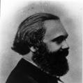 …der andere auch: Karl Marx 1867.