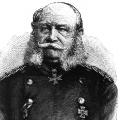 """Die Anhänger der Monarchie trugen ihre eigenen Bartmoden. Wilhelm I. von Preußen, seit 1871 deutscher Kaiser, prägte den """"Kaiser-Wilhelm-Bart""""."""