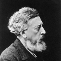 Mit Vollbart gegen Bismarcks Schnauzer: Wilhelm Liebknecht, der Mitgründer der SPD (um 1890).