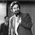 In den 1970er Jahren lassen junge SPD-Politiker die Tradition fortleben, hier: Der Politiker Reinhard Schultz beim Bundeskongress der Jungsozialisten in Hofheim 1978.