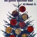 """35-Stunden-Woche? Die IG-Metall ruft 1978 zum """"Weihnachtsstreik""""."""