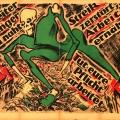 """Im Zuge der Novemberrevolution 1918/19 warnt der """"Werbedienst der sozialistischen Republik"""" vor den Folgen eines langen Streiks: Hunger und Zerstörung – um den neuen demokratische Staat nicht zu gefährden."""