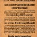 Um den Kapp-Lüttwitz-Putsch zu bekämpfen ruft der ADGB im März 1920 zum Generalstreik auf. In Berlin streiken auch die Verkehrsarbeiter, …