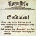 ...noch am selben Tag veröffentlicht die Zeitung eine Aufforderung der Regierung.