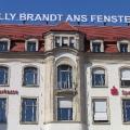 2009 würdigt die Stadt Erfurt die Ereignisse des Jahres 1970 mit einem Denkmal des Berliner Künstlers David Mannstien.