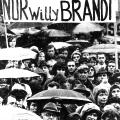 Bundestagswahlkampf 1972: Alle wollen Willy
