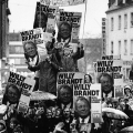 Willy Brandt erfährt große Unterstützung, nicht zuletzt bei jungen Wählern.