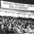 ....doch auch Springer-Mitarbeiter wählen Willy Brandt.