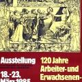 Eine Ausstellung des DGB erinnert an die Tradition der Arbeiter- und Erwachsenenbildung.