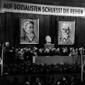 In der DDR wird ein gegenläufiges Erinnern etabliert. Ausgangspunkt ist der Vereinigungsparteitag im Admiralspalast…<br> Bildrechte: AdsD