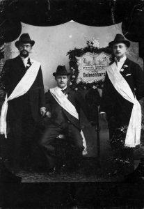"""Um 1900: Schriftsetzer organisieren sich in der """"Typographia"""", hier in Delmenhorst. Bildrechte: AdsD"""