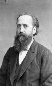 August Geib wird 1875 zum ersten Kassierer der Sozialistischen Arbeiterpartei gewählt. Bildrechte: unbekannt