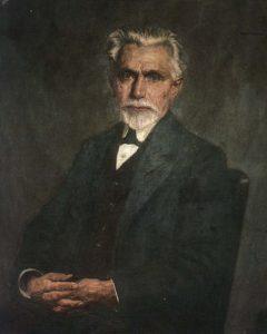 August Bebel eröffnete die SPD-Parteischule und war als Vorsitzender für sie zuständig.
